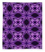 Lovely As A Purple Thought Fleece Blanket