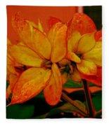 Lovely Flowers1 Fleece Blanket