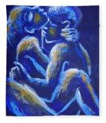 Lovers - Night Of Passion 4 Fleece Blanket