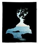Lovers Rock Fleece Blanket