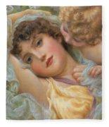 Love's Whispers Fleece Blanket
