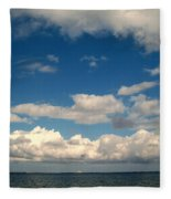 Low Hanging Clouds Fleece Blanket