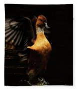 Low Key Duck Fleece Blanket