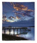 Low Tide Long Dock Fleece Blanket