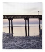 Low Tide Reflected Gp Fleece Blanket