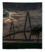 Lowcountry Grace Fleece Blanket