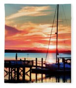 Lowcountry Leisure Fleece Blanket