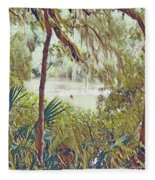 Lowcountry Summer Fleece Blanket