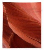 Lower Antelope Canyon 2 7855 Fleece Blanket
