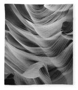 Lower Antelope Canyon 2 7871 Fleece Blanket