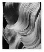 Lower Antelope Canyon 2 7877 Fleece Blanket