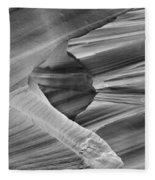 Lower Antelope Canyon 2 7888 Fleece Blanket