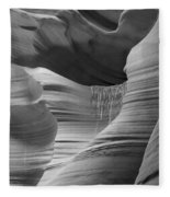Lower Antelope Canyon 2 7934 Fleece Blanket