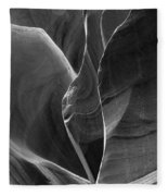 Lower Antelope Canyon 2 7968 Fleece Blanket