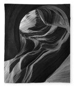 Lower Antelope Canyon 7712 Fleece Blanket