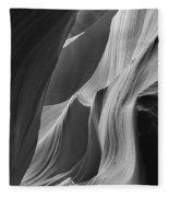 Lower Antelope Canyon 7746 Fleece Blanket