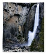 Lower Falls Fleece Blanket