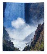 Lower Falls Fleece Blanket