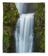 Lower Multnomah Falls Fleece Blanket