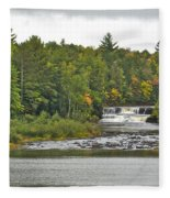 Lower Tahquamenon Falls 4 Fleece Blanket