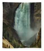 Lower Waterfalls Fleece Blanket