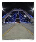 Lowery Street Bridge Fleece Blanket