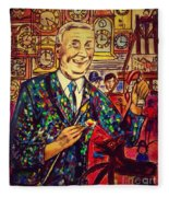 Lowry's Painting Suit Vintage Fleece Blanket