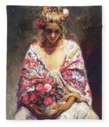lrsCOL063Royo Mirame Jose Royo Fleece Blanket