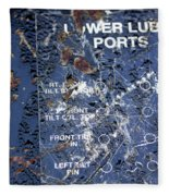 Lube Port Fleece Blanket