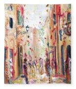 Lucca Street Fleece Blanket