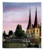 Lucerne 8 Fleece Blanket