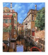 Luci A Venezia Fleece Blanket
