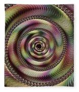 Lucid Hypnosis Abstract Wall Art Fleece Blanket