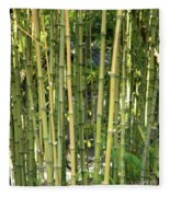 Lucky Bamboo Fleece Blanket