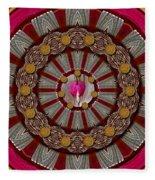 Lucky Clover For Good Luck Fleece Blanket