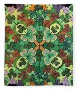 Lucky Day  Mandala Fleece Blanket