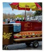 Lucky Dogs Fleece Blanket
