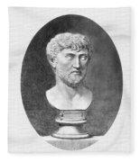 Lucretius (96 B.c.?-55 B.c.) Fleece Blanket