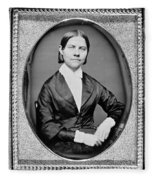 Lucy Stone, American Abolitionist Fleece Blanket