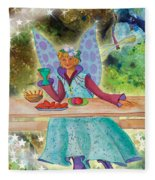 Lulu Beth Twinkle At The Banquet Fleece Blanket