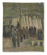 Lumber Sale Nuenen  January 1884 Vincent Van Gogh  1853  1890 Fleece Blanket