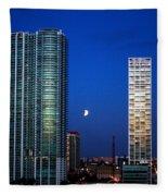 Lunar Eclipse-04apr2015-2 Fleece Blanket