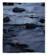Lunar Flow Fleece Blanket
