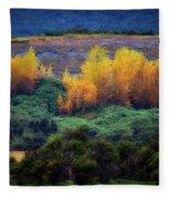 Lush New Zealand Countryside Fleece Blanket