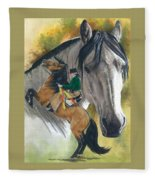 Lusitano Fleece Blanket