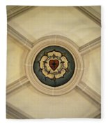 Luther Rose At St Peter And Paul Fleece Blanket