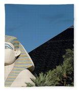 Luxor Hotel Las Vegas Fleece Blanket
