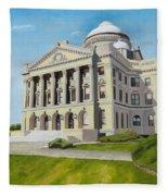 Luzerne County Courthouse Fleece Blanket