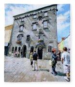 Lynches Castle Galway City Fleece Blanket
