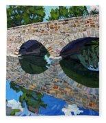 Lyndhurst Bridge Fleece Blanket